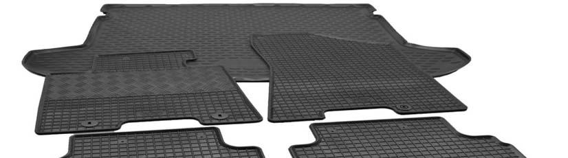 Schrägheck Bj. 2012-2018 Auto-Fußmatten nach Maß für Skoda Rapid Spaceback