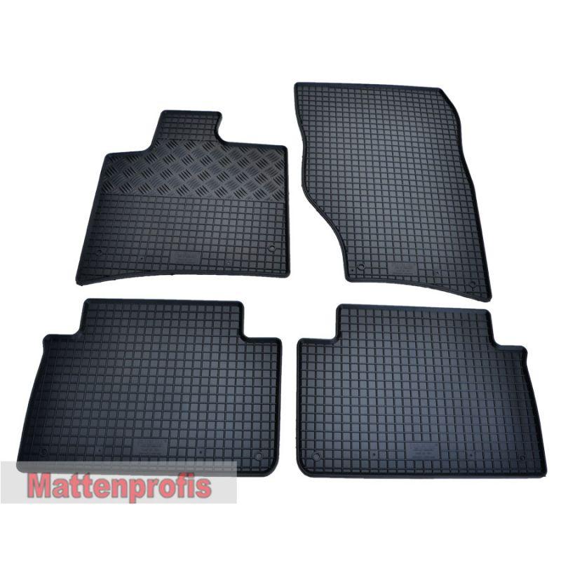 Mattenprofis Gummimatten Gummifußmatten für Audi Q7 4L ab Bj.2006-2015