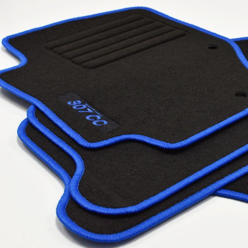 bj ab  2009  4-Teilig Edition Bl Peugeot 206 Schrägheck Automatten  Fußmatten