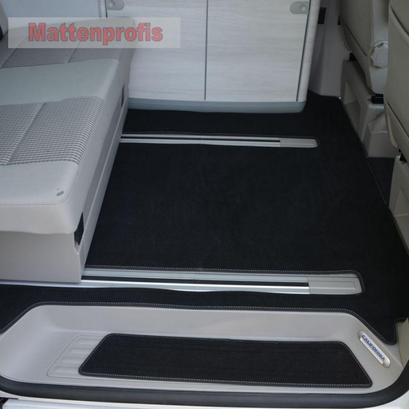 Premium Velour Fu 223 Matten Komplett F 252 R Vw T6 California