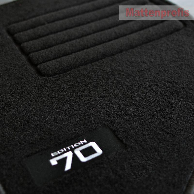 Mattenprofis Velours Edition Fußmatten für Volvo V70 II P80 ab Bj.03//2000-2007