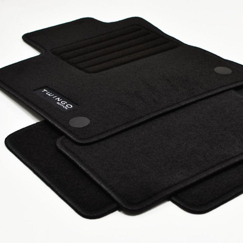 sw 09//2014 Velours Fußmatten 4-teilige Edition für Renault Twingo III ab Bj