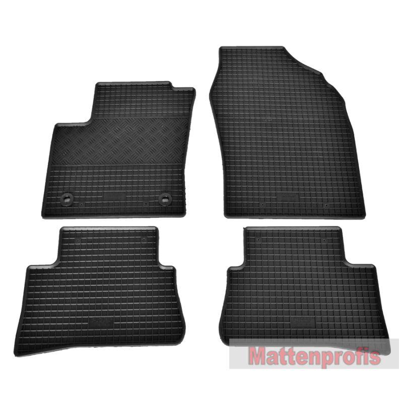 MP Gummimatten Gummifußmatten für Nissan Pathfinder IV R52 ab Bj 2012