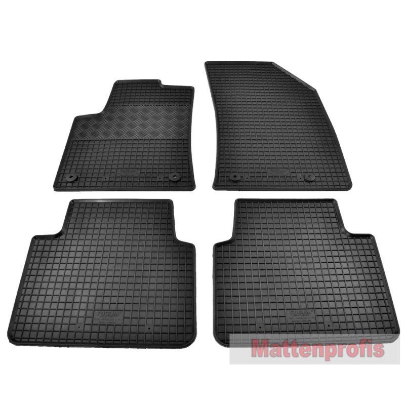 Hochwertige Gummifußmatten für Peugeot 308 II ab 2013-4tlg