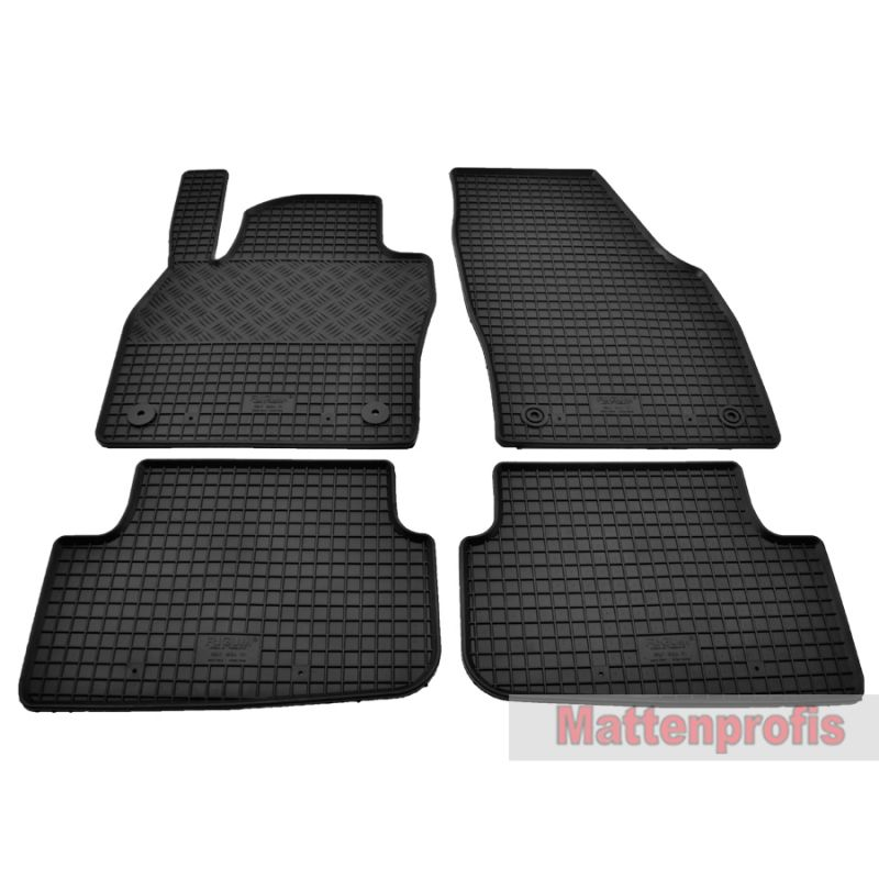 Mattenprofis Premium Velour Fußmatten für Audi A3 8P Sportback ab Bj.2003-2012