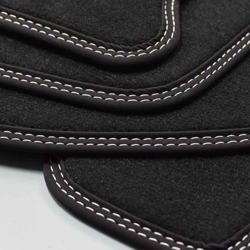 02//2014 von Mattenprofis Fußmatten Doppelnaht si für Porsche Macan ab Bj