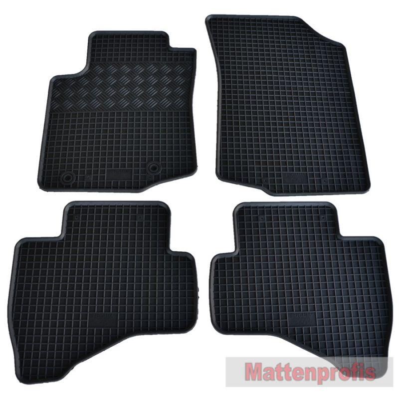ab 2008 bis heute Gummimatten Gummi-Fußmatten für Ford Fiesta VII Bj