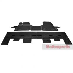 1.Reihe für Opel Vivaro II ab Bj.06//2014 MP Gummimatten Gummifußmatten vorn